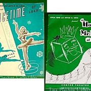 SALE Icetime of 1948 and �Howdy, Mr.Ice of 1950�, Sonja Henie & Arthur M. Wirtz
