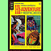 SALE 1969 Hanna-Barbera Hi-Adventure Heroes Comic, No. 2