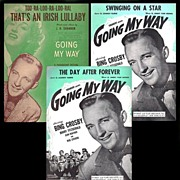 SALE 1944 Going My Way with Bing Crosby Sheet Music