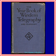 REDUCED 1921 The Year Book of Wireless Telegraphy and Telephony