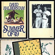 SALE 1951 The Real Book About Baseball & 1989 The Summer of �49 Book