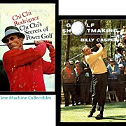 SALE 1966 Billy Casper Golf Shotmaking and 1967 Chi Chi Rodriguez Chi Chi's Secrets ...