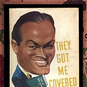 SALE Bob Hope--1941 They Got Me Covered Paperback Book, First Edition