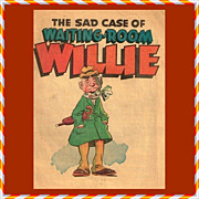 Rare 1950 The Sad Case of Waiting-Room Willie Comic Book