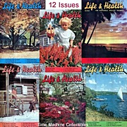 One Year 1949 Life & Health National Health Journal Magazines