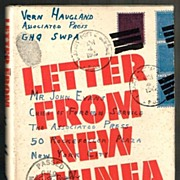 1943 Letter From New Guinea by Vern Haugland