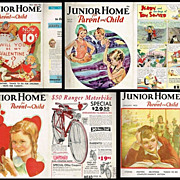 1933-35 Junior Home for Parent and Child & for Mothers Magazines