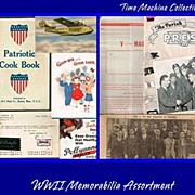 REDUCED WWII Paper Memorabilia 15 Pieces
