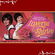 1977 Laverne & Shirley Board Game by Parker Brothers