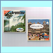 1960�s Argentina and Belgium View-Master Reel Sets
