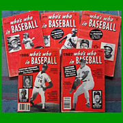 Five 1970s/1980s Whos Who in Baseball Magazines