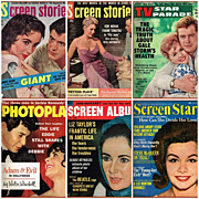 Six Assorted 1950�s/1960�s TV & Movie Star Magazines