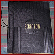 1943/44 WWII Family Scrap Book of  108 V-Mails