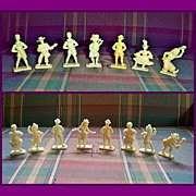 15 Van Brode Dancing Figures by Duckies Puffed Wheat Cereal
