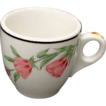 Southern Pacific RR Prairie Mountain Wildflowers China Demitasse Cup