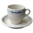 Denver & Rio Grande RR &quot;Prospector&quot; Demitasse Cup & Saucer Set
