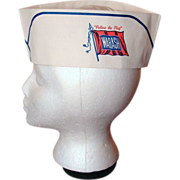 Wabash Railroad Paper Chef Cap - New Old Stock