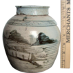 Chinese Export rose petal or ginger jar - exquisite artwork, fine form - USA SHIPPING INCLUDED!