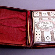 Christmas Theme 1874  Gorham Sterling Card Case.