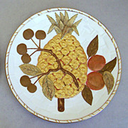 REDUCED A set of 12  hand decorated Wedgwood fruit plates circa 1885