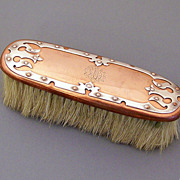 Mixed Metals Clothes Brush Joseph Heinrichs circa 1890
