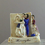 SOLD Victorian German Porcelain The Power of Love!