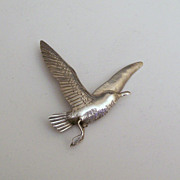Clifford Russell Sterling Sea Gull Pin