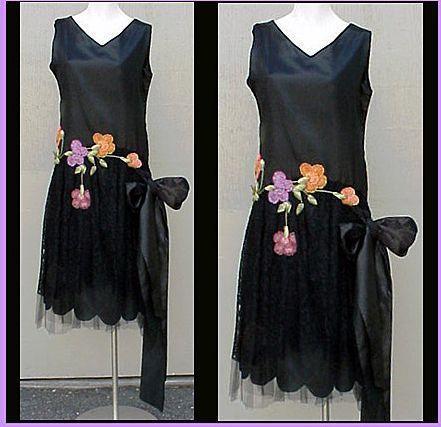 1920s evening dresses 1920s silk evening gown