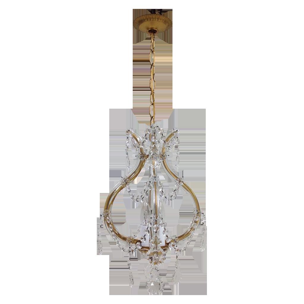 maria theresa 4-light chandelier
