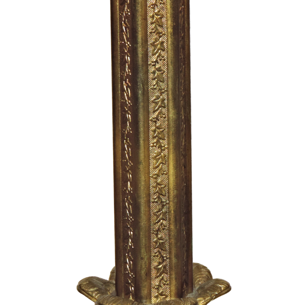 antique gilt bronze onyx floor lamp winged ladies from tolw on. Black Bedroom Furniture Sets. Home Design Ideas