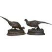 Antique French Bronze Pheasants Moigniez & Barye