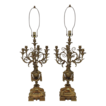 Pair Napoleon III French Candelabras