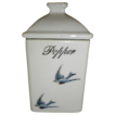 Lovely Bluebird Spice Canister (Jar), PEPPER