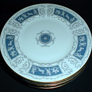 Lovely Bone China Salad or Dessert Plate REVELRY Coalport