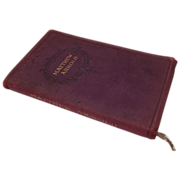 "Small Leather Bound Book, ""Matthew Arnold"" Poems"