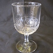 EAPG Water Goblet, BARBERRY, (12 Available)