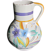 Lovely Hand-Painted Pitcher (Vase) Made in England
