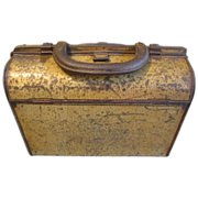 1904 British Biscuit Tin, Huntley & Palmers, HANDBAG