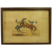 C. 1821 Colored Engraving Henry Alken &quot;One of the Comforts of Riding in Company&quot;