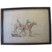 C. 1821 Colored Engraving Henry Alken &quot;Symptoms of Things Going Down Hill&quot;