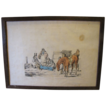 C. 1821 Colored Engraving Henry Alken &quot;A Thing of Last Consequence&quot;