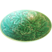Wedgwood Majolica Salad Bowl, Greenware, Overlapping Leaves