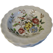 Group of 6 Small Soup Plates, FLOWERPIECE, Booths