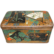 Lovely Dutch Biscuit Tin, Oriental Design