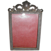 Lovely Rectangular Table-Top Frame, Patent 1908