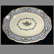 Lovely Light Blue Platter, Mintons, ORION, 1910-20