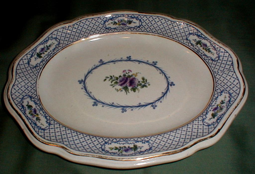 Lovely Small Blue Platter Mintons ORION