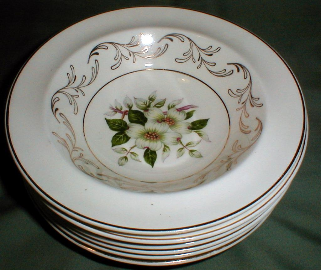 Lovely Vintage Fruit Bowl, DOGWOOD, Johnson Bros. England