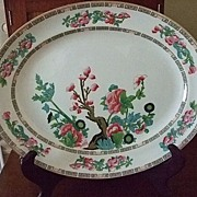 "SALE English Keeling & Co. Ltd. ""Indian Tree"" Platter"
