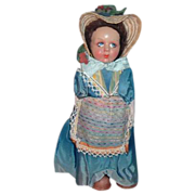 Vintage Lenci-Type  Art Cloth Doll